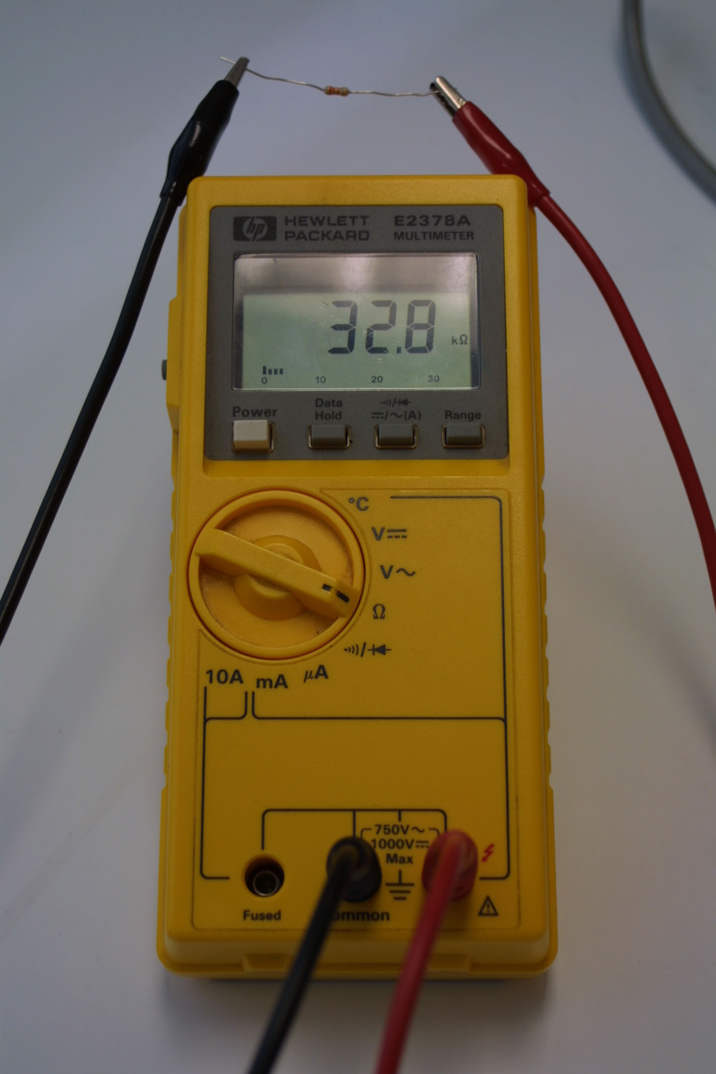 Using An Ohmmeter : Ohmmeter how to use an instrument