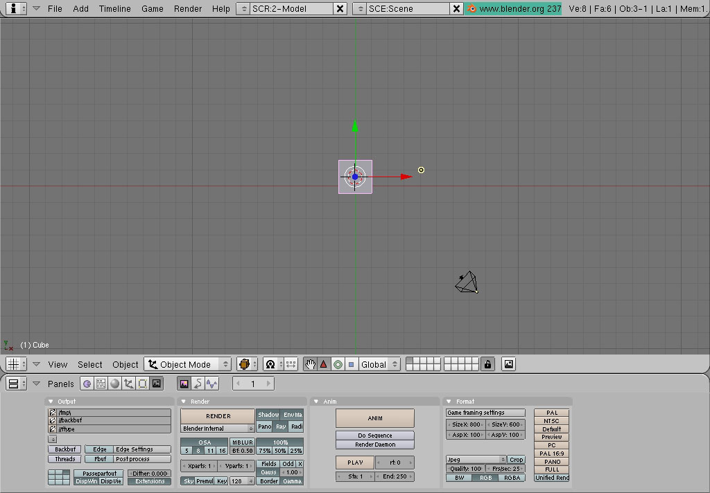Making Renders wiht blender from 3ds files  Forumula 1 cars